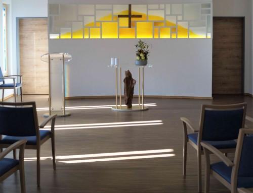 Kapelle im Novita Seniorenheim in Pfaffenhofen